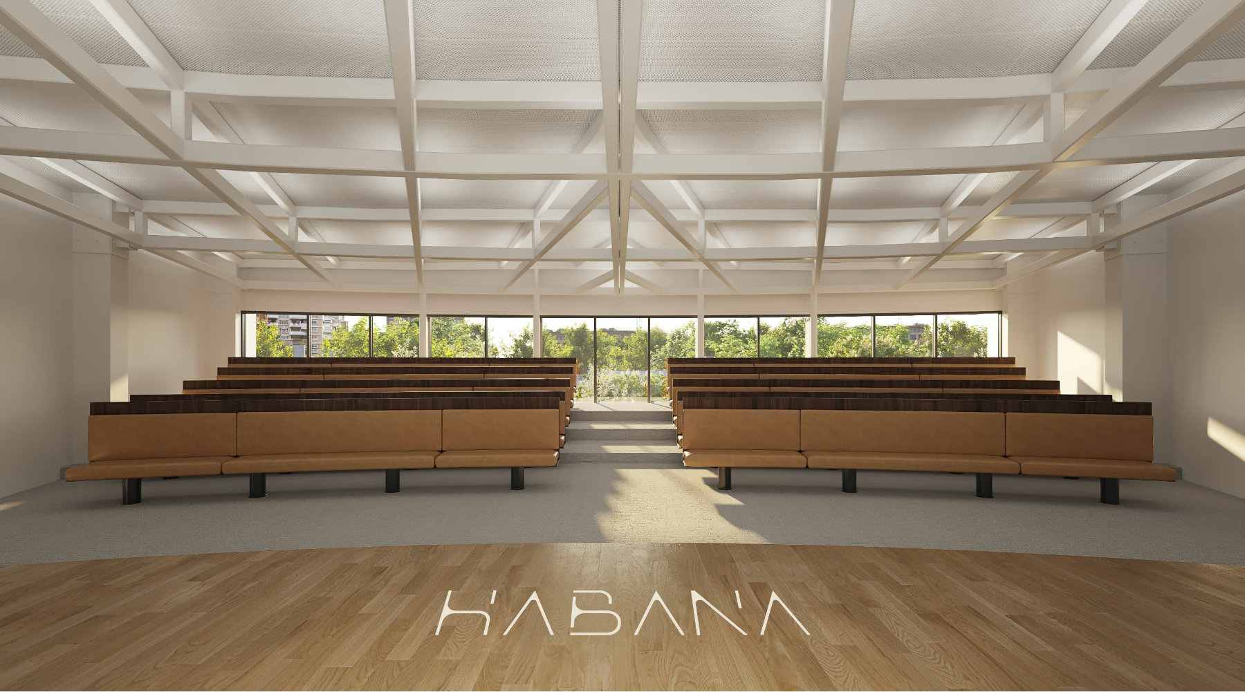 Auditorio edificio habana